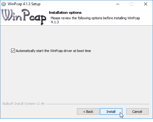 free download winpcap for windows 10